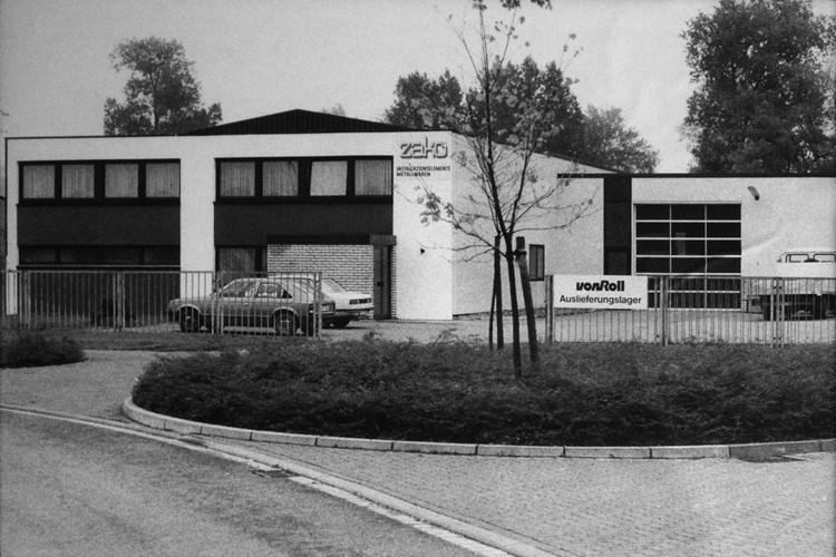 Das Gebäude der Firma ZAKO