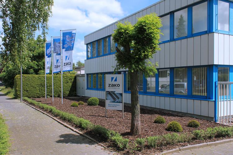 Das Firmengebäude von ZAKO Metalltechnik