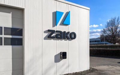 ZAKO fährt elektrisch voran.